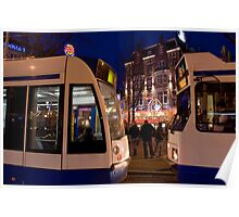 Two Trams Poster