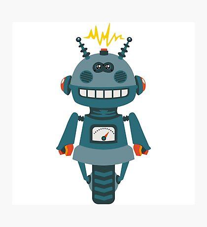 Cute little Robot Photographic Print