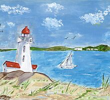 The Lighthouse by Anne Gitto