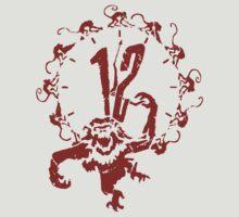 A Dozen Simians by Number Six