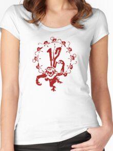A Dozen Simians Women's Fitted Scoop T-Shirt