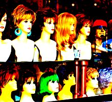 The Wig Shop  by Missy Corrales