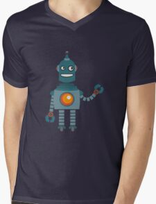 Cute little Robot Mens V-Neck T-Shirt