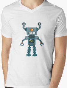 Cute little Robot Mens V-Neck T-Shirt