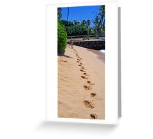 Leaving Greeting Card