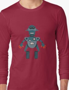 Cute little Robot Long Sleeve T-Shirt