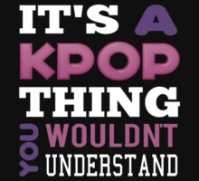 A KPOP THING - BLACK Kids Clothes