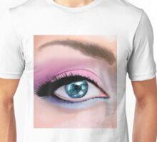 Con el ojo en la ola Unisex T-Shirt