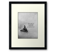 Wild And Precious Framed Print
