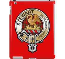 Stewart Clan Crest iPad Case/Skin
