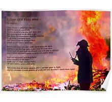 ~ Dear CFA Firey Mine ~ Poster