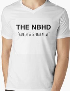 The NBHD - Happiness is Figurative 2 Mens V-Neck T-Shirt