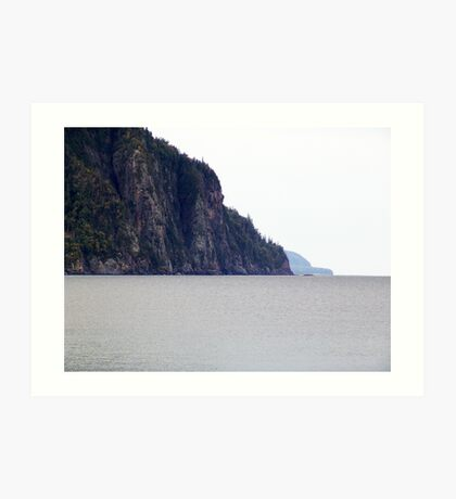 The Cliffs-Old Woman Bay Art Print