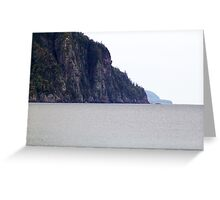 The Cliffs-Old Woman Bay Greeting Card
