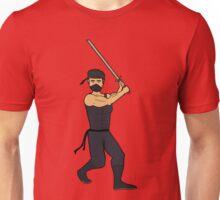 Me as a sword wielding ninja Unisex T-Shirt