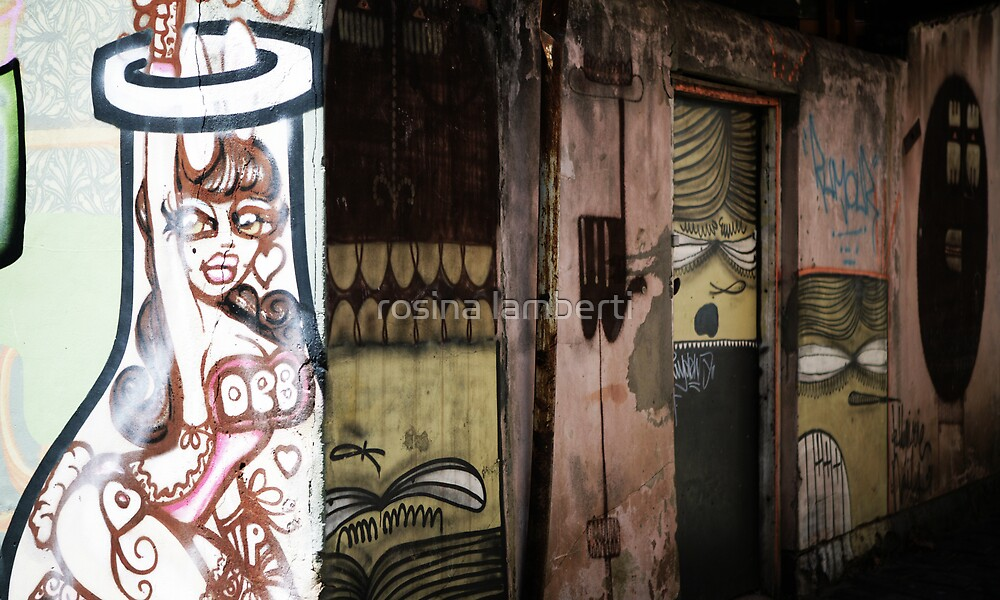 Melbourne Graffiti-Artist Deb by Rosina  Lamberti