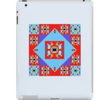 Smart in Sweet Foulard Red iPad Case/Skin