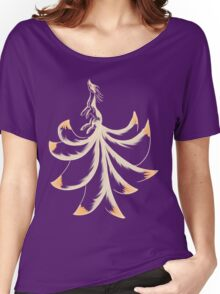 Ninetails Lines Women's Relaxed Fit T-Shirt