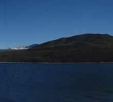 Twin Lakes Pano by negative01