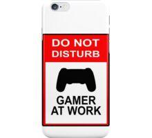 Gamer At Work - Playstation iPhone Case/Skin