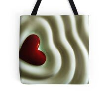 Heart Wave Tote Bag