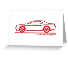 2010 New Dodge Challenger Greeting Card