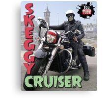 Skeggy Cruiser Canvas Print