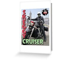 Skeggy Cruiser Greeting Card