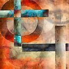 Crossroads Abstract by Edward Fielding