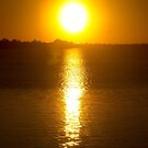 Sunset Over Lake Dora by ValeriesGallery