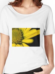 Melo Yellow Women's Relaxed Fit T-Shirt