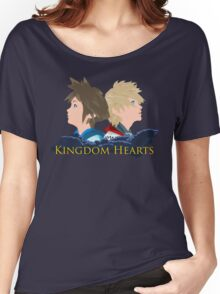 Sora & Roxas Back to Back Women's Relaxed Fit T-Shirt