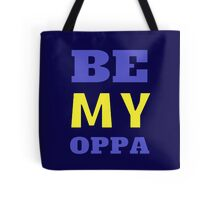 BE MY OPPA - Blue Tote Bag