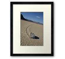 The Racetrack - Death Valley, California Framed Print