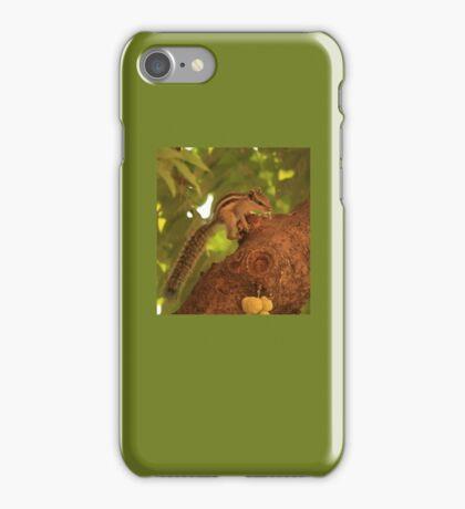 Scamering Squirrel iPhone Case/Skin