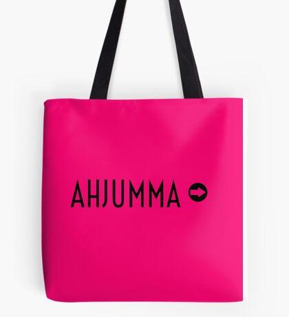 AHJUMMA - pink Tote Bag