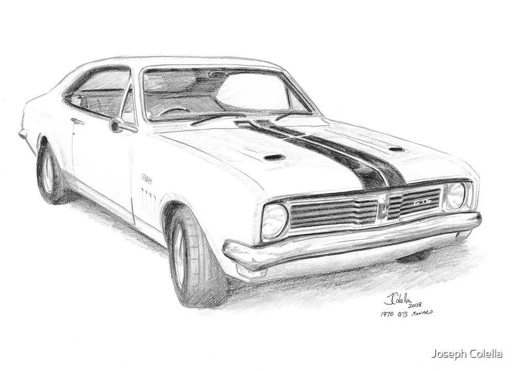 Old Muscle Car Blueprints