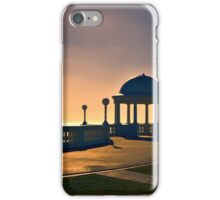 Sunset structure iPhone Case/Skin