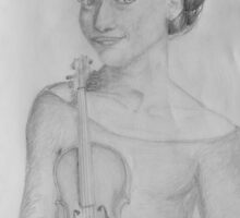 Girl and Strings by bkalkowski