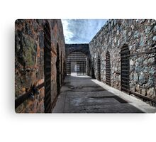 Cell Blocks Canvas Print