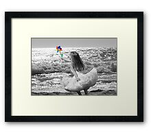 It's your time to fly Framed Print
