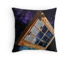 Missed Window Of Opportunity Throw Pillow