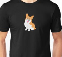 Cute Little Corgi Pup Unisex T-Shirt