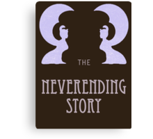 The Neverending Story - Nerd Movie and Book  Canvas Print
