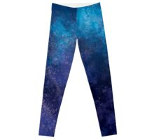 Blue and Purple Galaxy Leggings