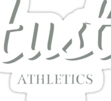 Hustle Athletics Black Label Sticker