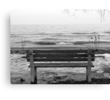 Lonely. Canvas Print