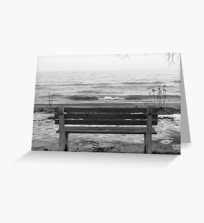 Lonely. Greeting Card