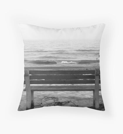 Lonely. Throw Pillow