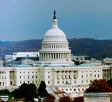 US Capitol Building by Hicksy